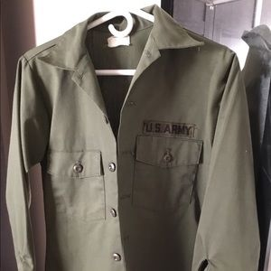 Urban Outfitters Army Jacket, sz 14 1/2 x 33 (L)